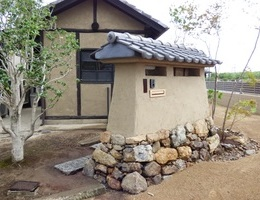埼玉県久喜市S邸『土の家と土塀門』