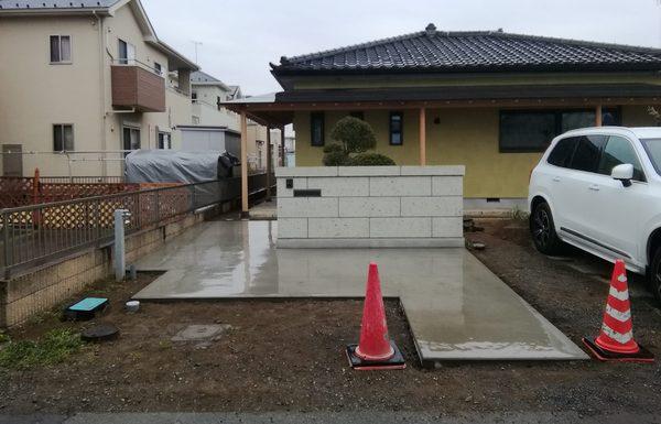 明和町で作庭